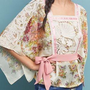 Anthropologie Begonia blouse NWOT